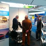 Teconer booth in Amsterdam 2017