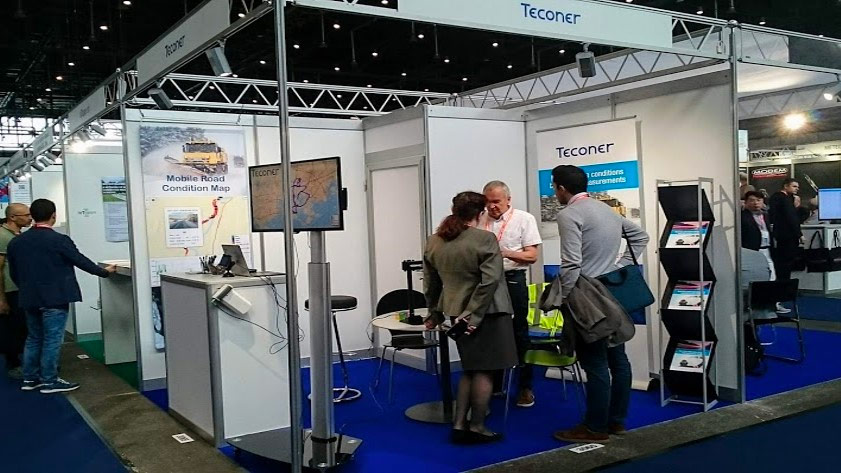 Teconer booth in Geneve 2019